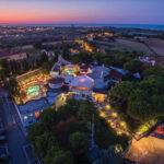 Byblos Club, la notte chic sulla collina di Riccione