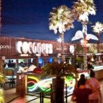Pista commerciale + giardino latino al Coconuts Club di Rimini