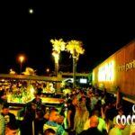 Coconuts Rimini con pista commerciale, giardino latino e pista Fuera