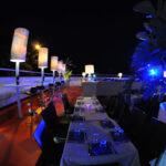 Discoteca La Terrazza, dinner + house chic