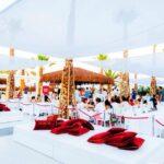 Primo sabato notte di agosto allo Shada Beach Food Club
