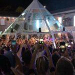 Il secondo party della Notte Rosa per l'estate 2014 della Villa delle Rose