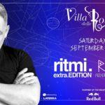 Ralf dj alla Villa delle Rose per la serata Ritmi