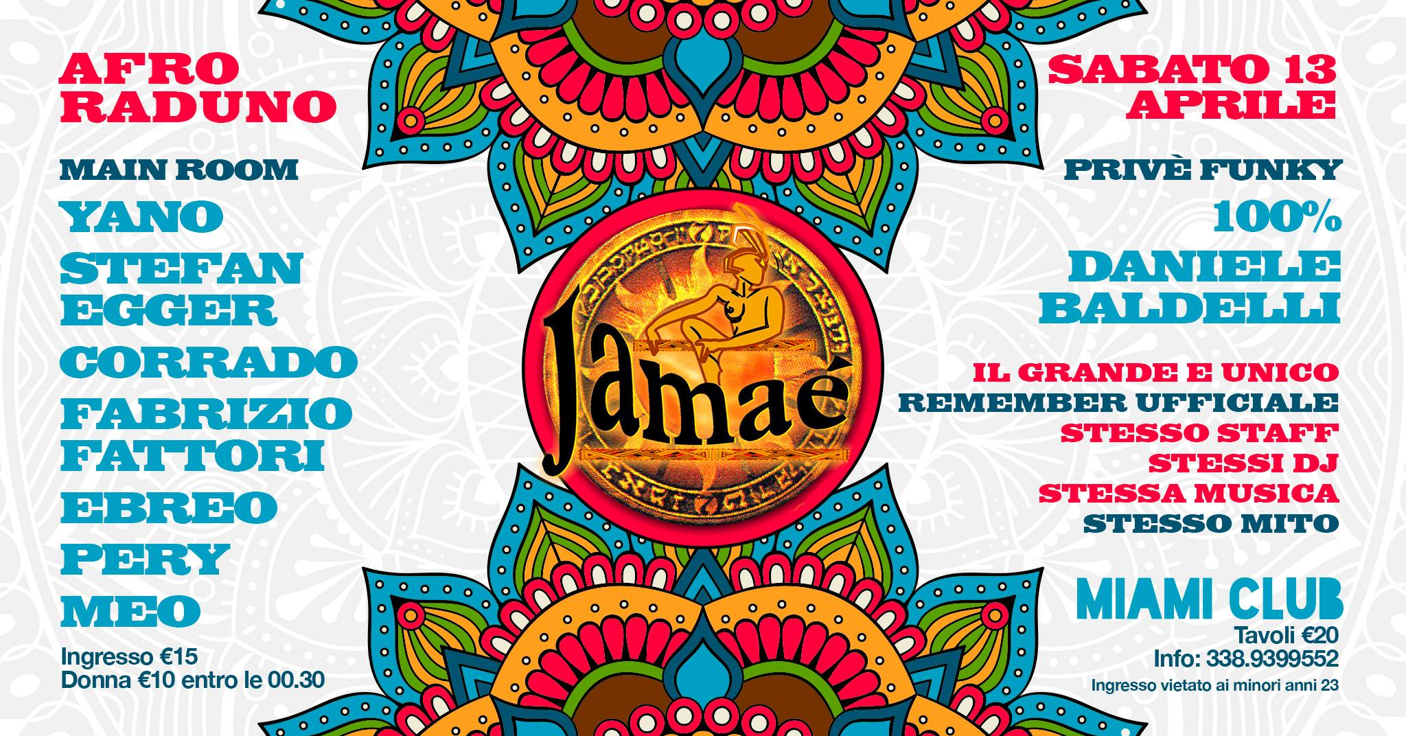 Remember Jamae Discoteca Miami Monsano