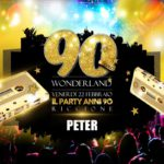90 Wonderland Peter Pan Club Riccione