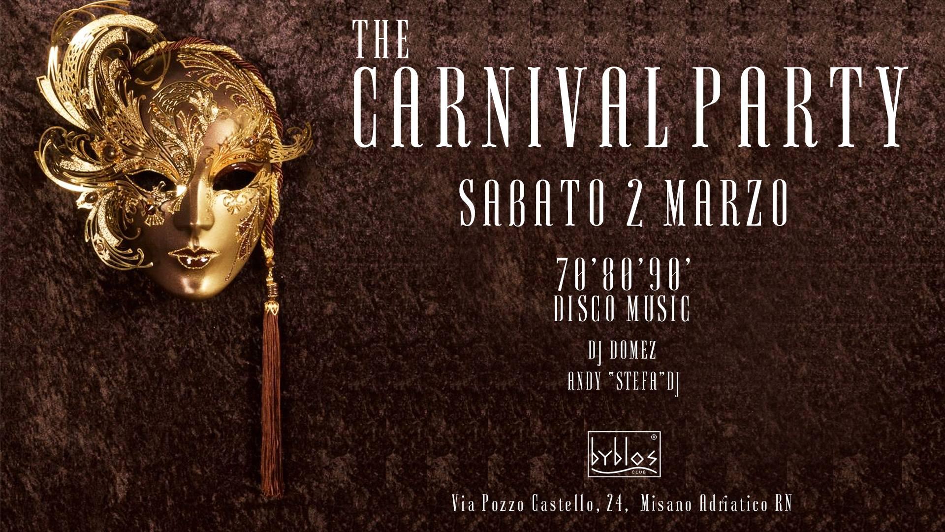 Carnevale Byblos Club Riccione