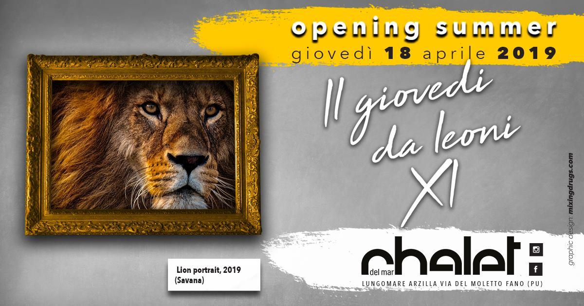 Opening Summer 2019 Chalet Del Mar Fano