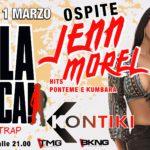 Jenn Morel guest Kontiki San Benedetto del Tronto