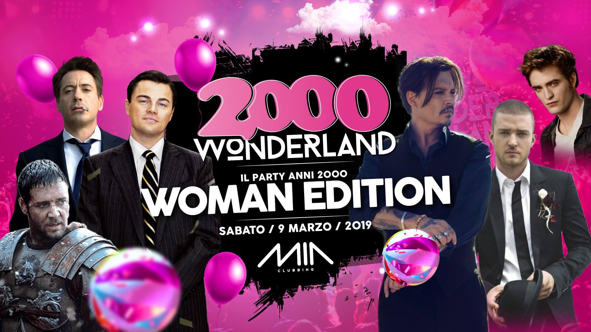 2000 Wonderland Woman Edition Mia Clubbing Porto Recanati