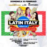 Latin Italy pre San Valentino Noir Club Jesi