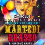 Carnevale 2019 Noir Club Jesi