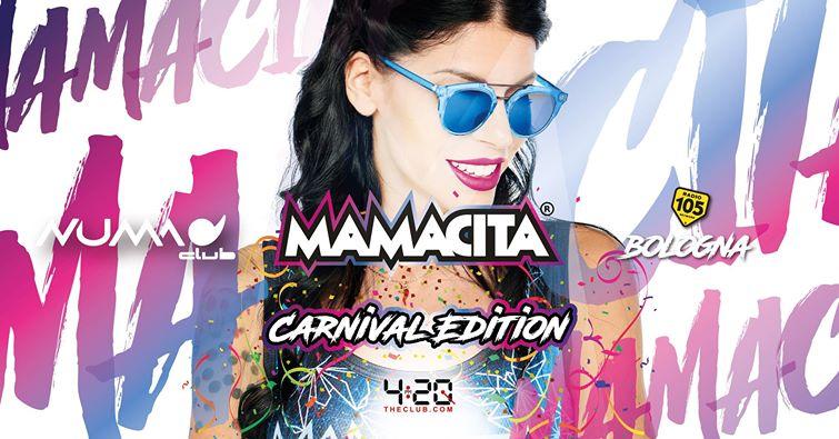 Carnevale Mamacita Numa Club Bologna