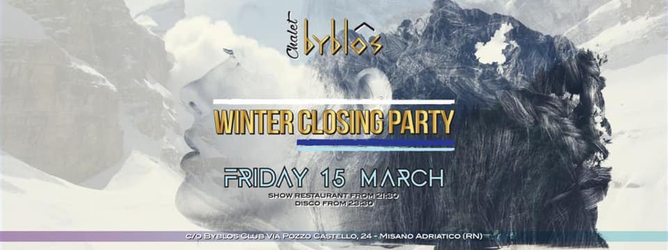 Winter Closing Party Byblos Club Riccione