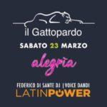 Alegria lo show dei Latin Power Gattopardo Alba Adriatica
