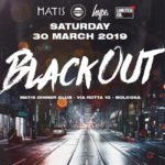 Black Out Party Matis Dinner Club Bologna