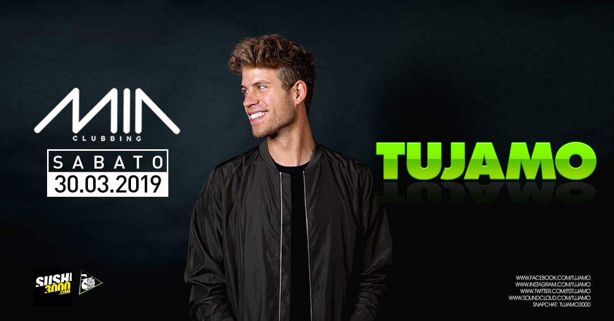 Tujamo guest dj Mia Clubbing Porto Recanati