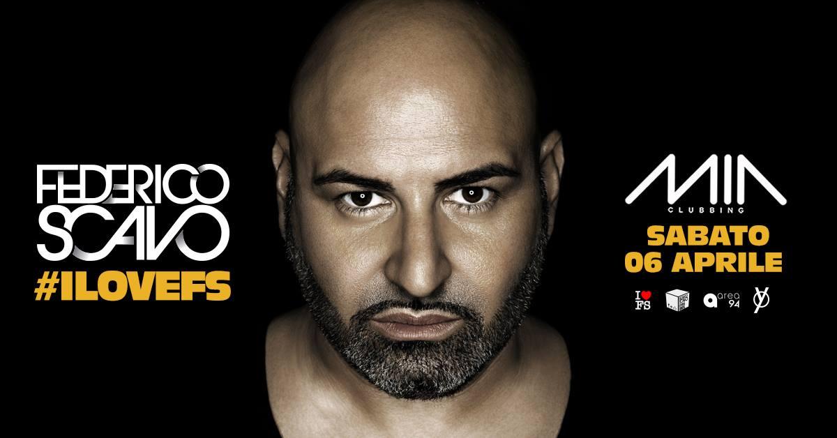Federico Scavo guest dj Mia Clubbing Porto Recanati