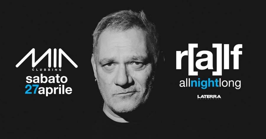 Ralf guest dj Mia Clubbing Porto Recanati