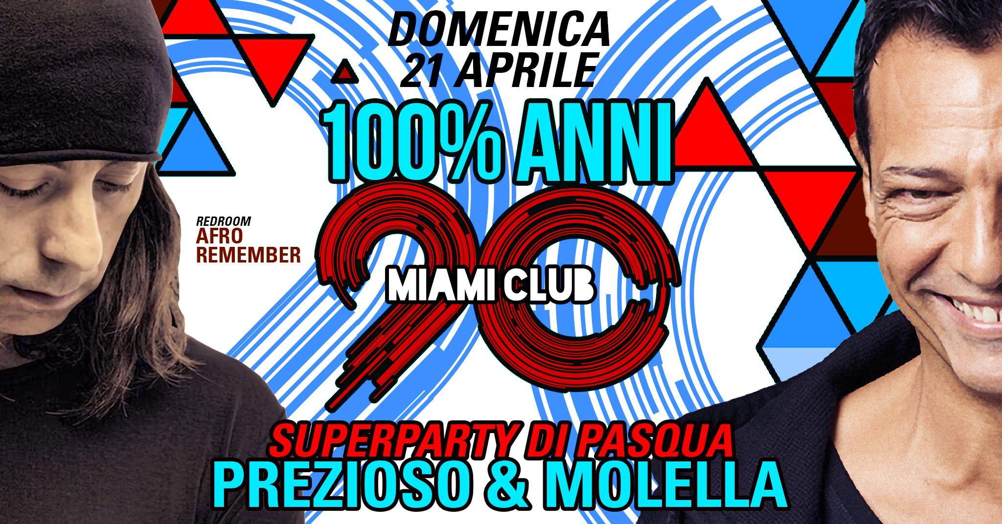 Pasqua Miami Club Monsano djs Molella e Prezioso