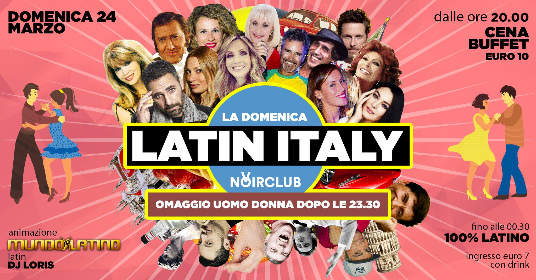 Noir Club Jesi apericena con musica latina e italiana