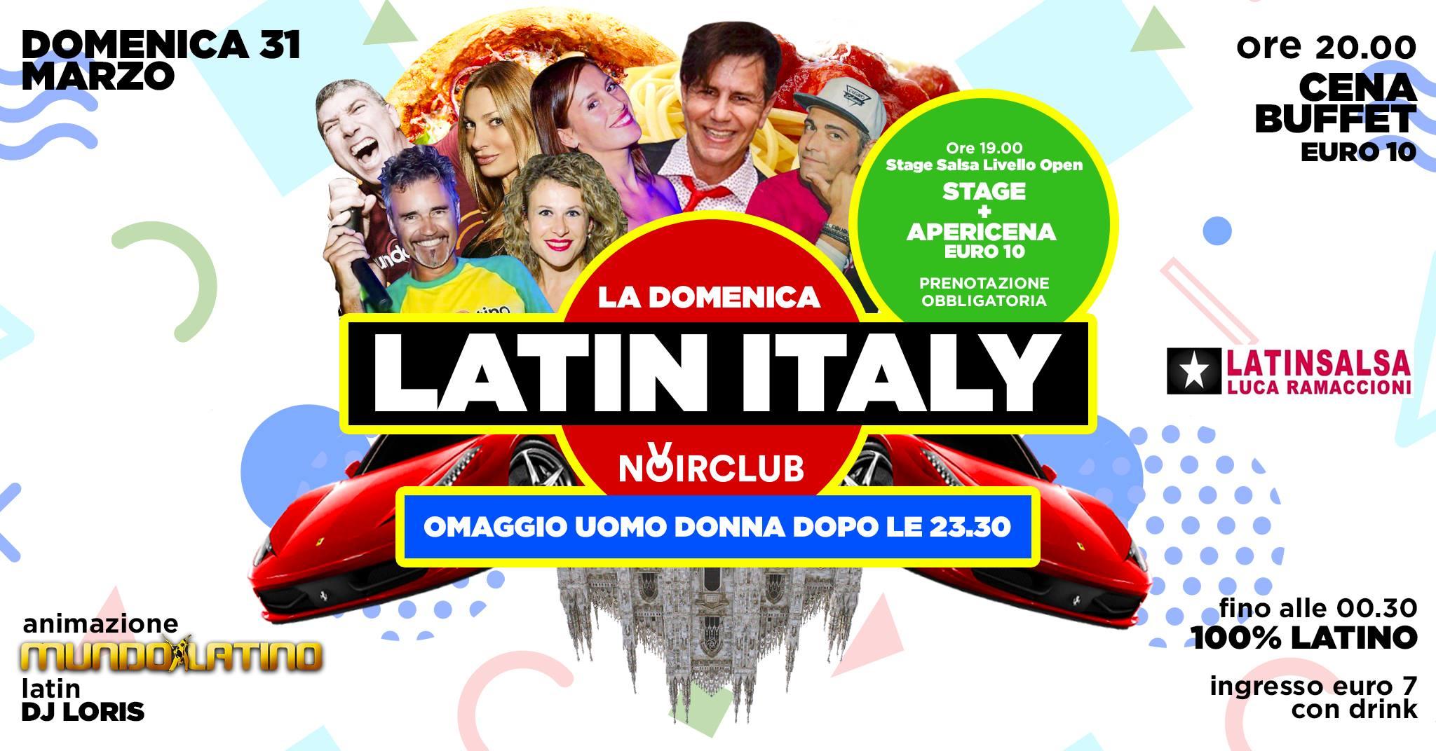 Mundo Latino e dj Loris Noir Club Jesi