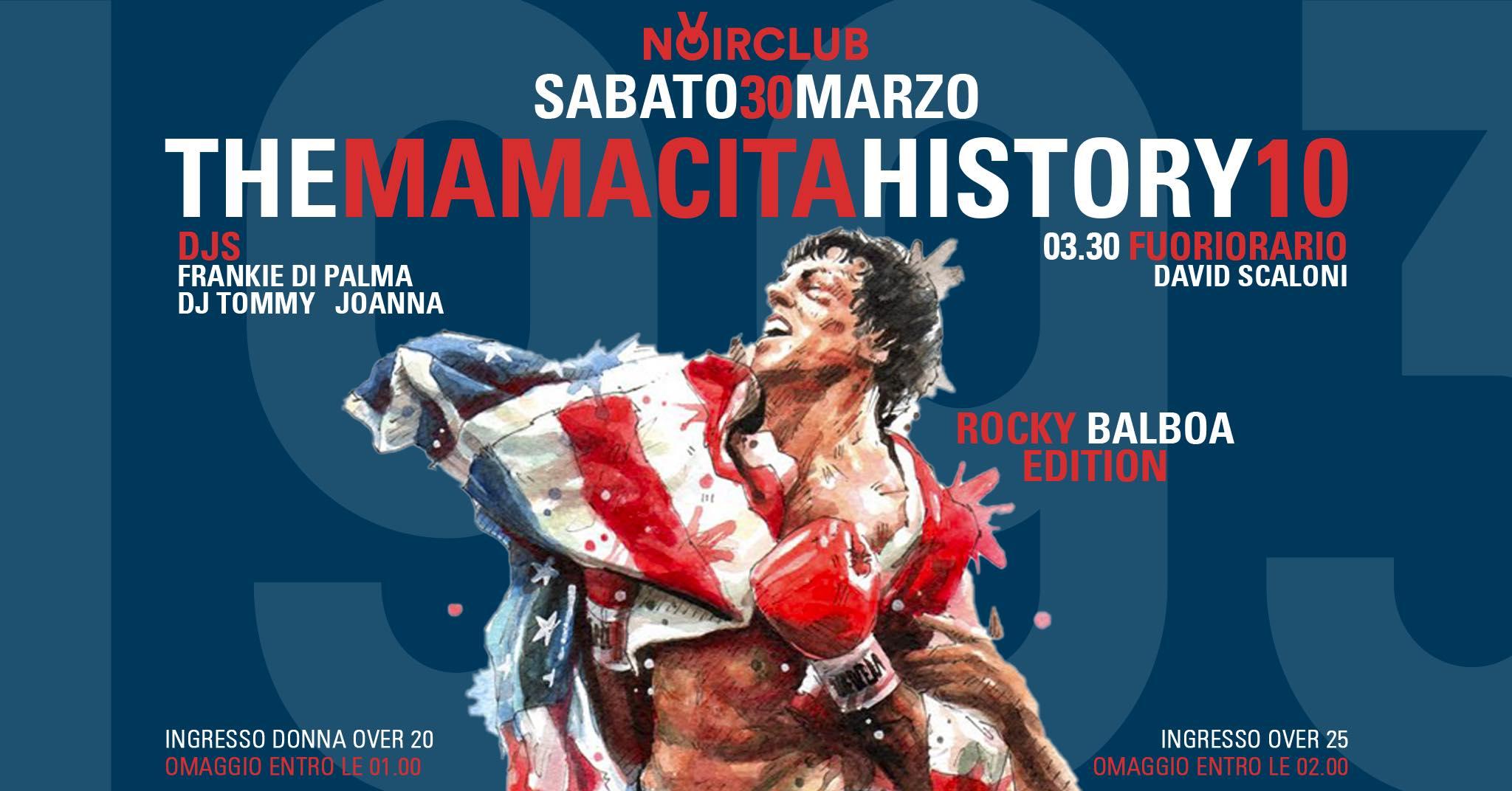 The Mamacita History 10 Rocky Balboa Edition Noir Jesi