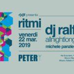 Ralf dj presenta Ritmi Peter Pan Club Riccione