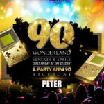 90 Wonderland Peter Pan Riccione