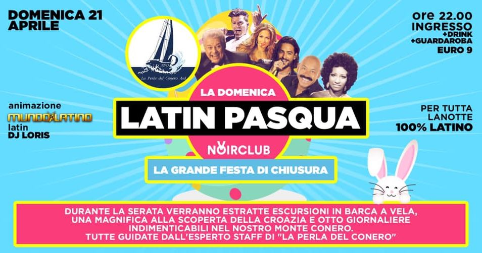 Latin Pasqua Noir Club Jesi
