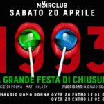 La grande festa di chiusura Noir Club Jesi