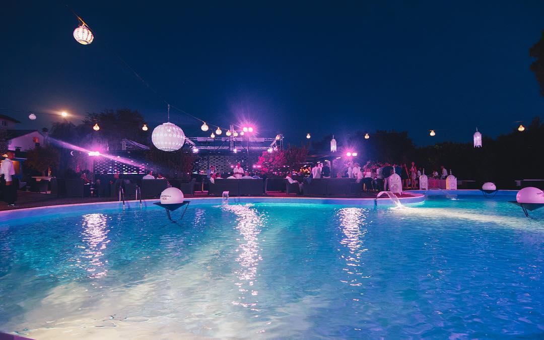 Evento post Notte Rosa discoteca Villa Papeete Milano Marittima