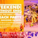 Primo weekend di maggio Samsara Beach Riccione