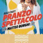 Pranzo spettacolo con Matteo Borghi live alla discoteca Shada