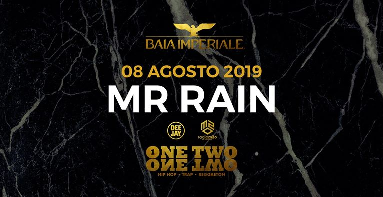 Mr Rain discoteca Baia Imperiale Gabicce Mare
