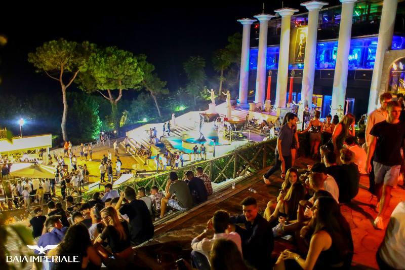 Discoteca Baia Imperiale Gabicce Mare Toga Party Closing Night