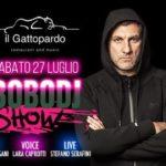 Bobo dj show Discoteca Gattopardo Alba Adriatica