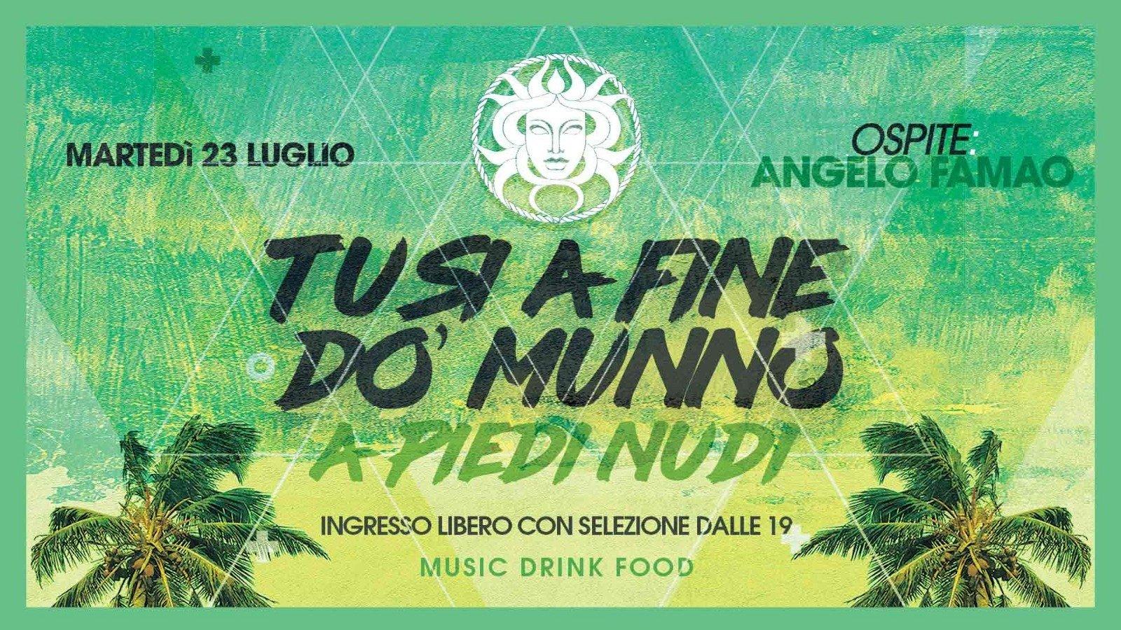 A Piedi Nudi ospite Angelo Famao Bagni Medusa Beach Club