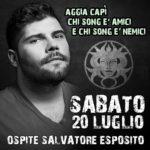Bagni Medusa San Benedetto del Tronto ospite Salvatore Esposito