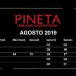 Aspettando Ferragosto 2019 discoteca Pineta Milano Marittima