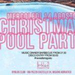 Ferragosto Christmas Pool Party Byblos Club Riccione