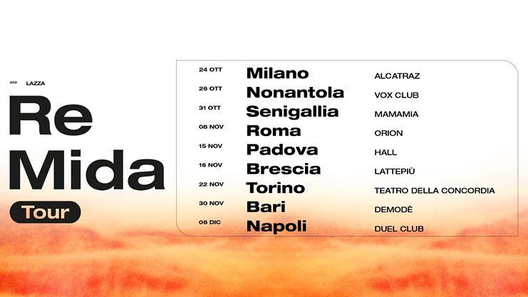 Halloween 2019 Mamamia Senigallia Lazza Re Mida Tour