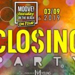 Closing Party Moove on tour Miu Disco Dinner Marotta Mondolfo