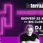 Houseterrace Closing Party dj Ralf La Terrazza BB Club