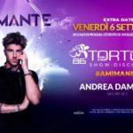 Andrea Damante guest Tortuga Show Disco Dinner Montesilvano Pescara