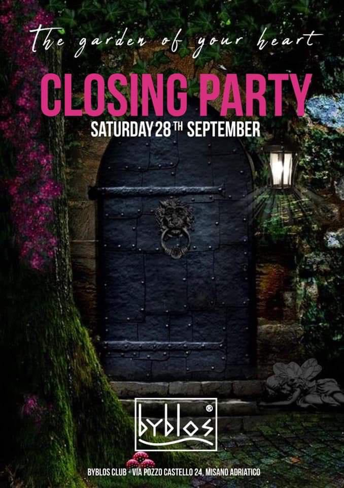 Closing Party estate 2019 Byblos Club Misano