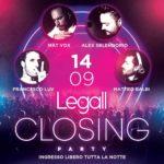 Closing Party Summer 2019 Le Gall Club Porto San Giorgio