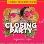 Summer Closing Party Miu Disco Dinner Marotta Mondolfo