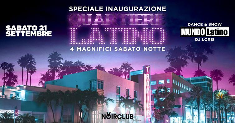 Inaugurazione Quartiere Latino Noir Club Jesi