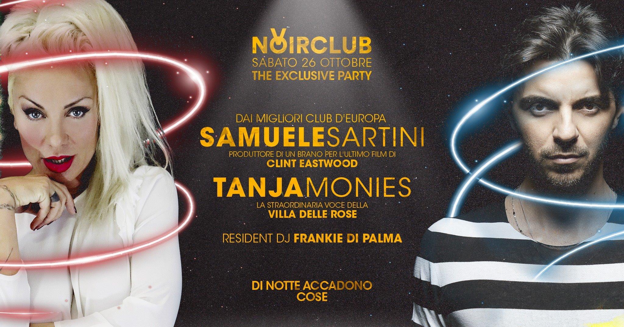 Samuele Sartini e Tanja Monies Noir Club Jesi