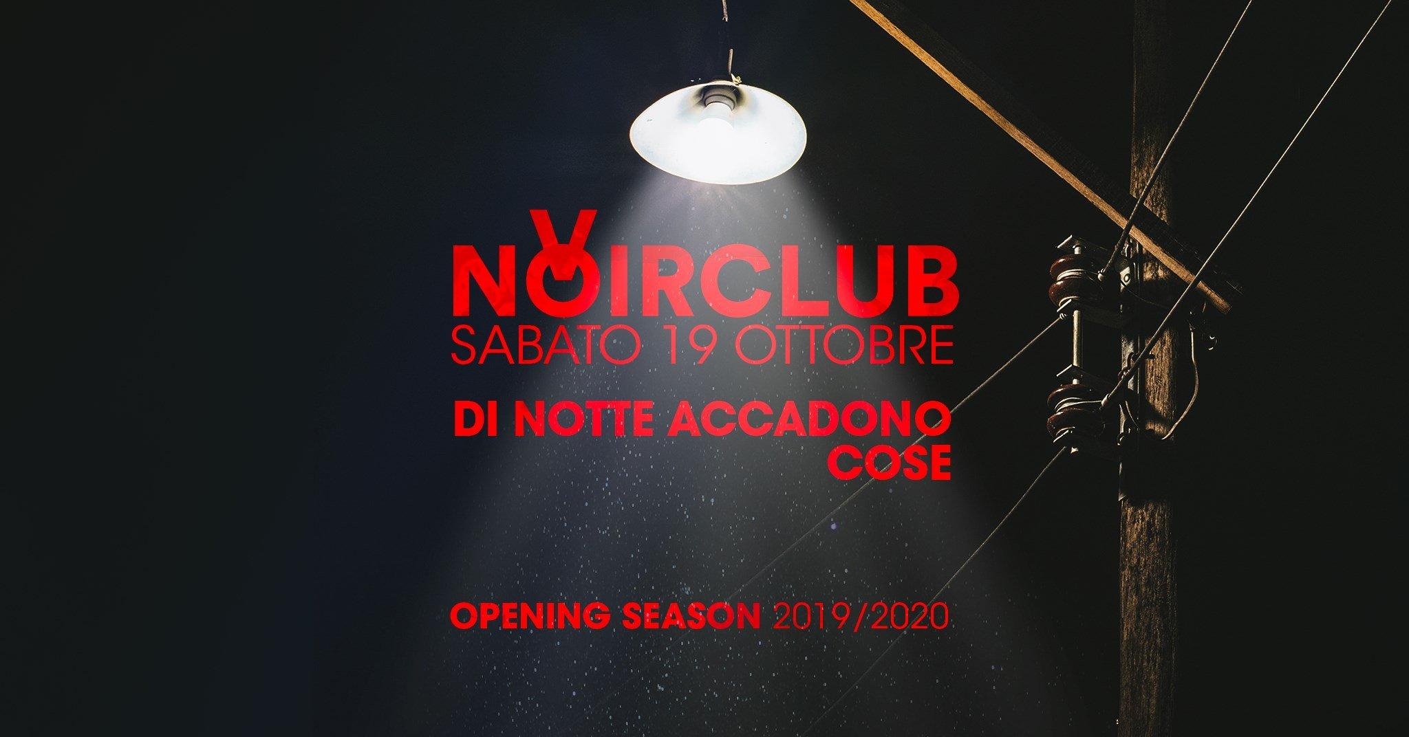 Inaugurazione 2019 -2020 Noir Club Jesi